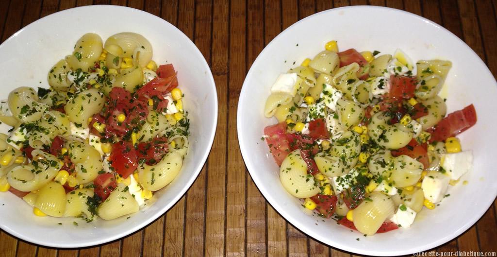 salade de p 226 tes tomates et mozzarella