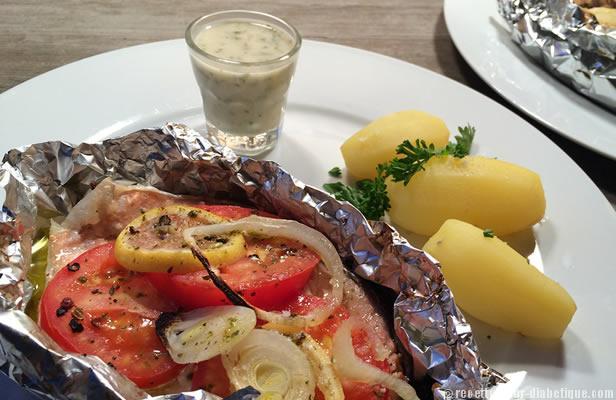 Darne de saumon en papillote sauce estragon - Saumon papillote au four ...