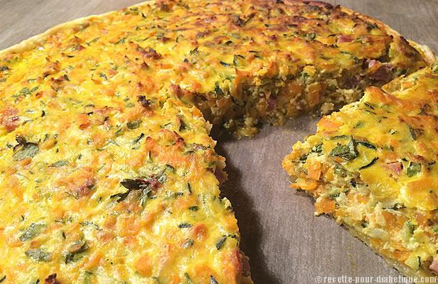 Tarte aux courgettes et carottes la ricotta for Cuisiner une entree