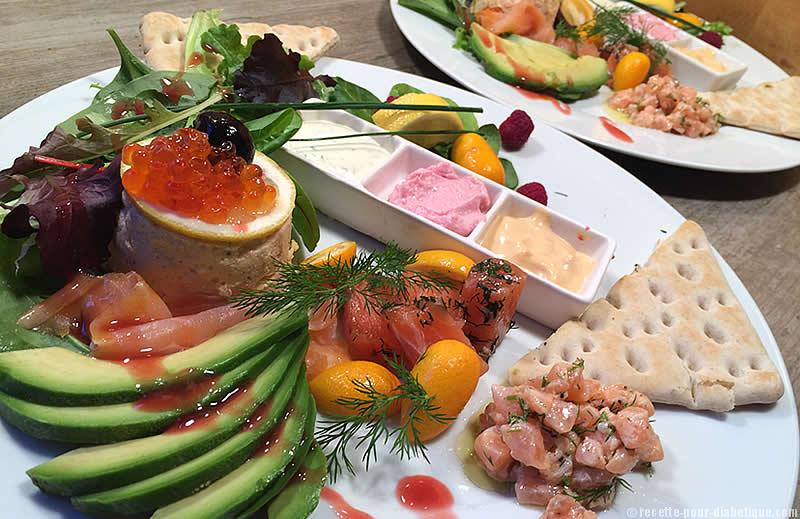 Festival de saumon for Idee entree repas