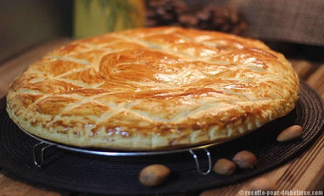 galette des rois sans sucre frangipane sans beurre