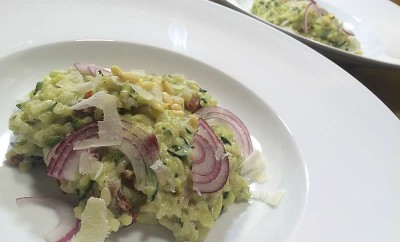 risotto-courgette