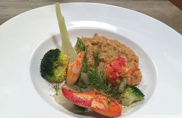 risotto-homard