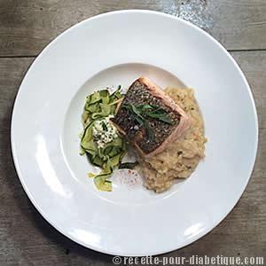 saumon-risotto