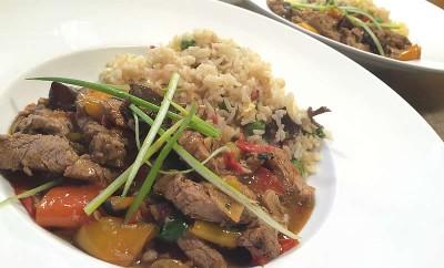saute-porc-ail-riz