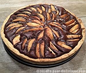 tarte-chocolat-poires