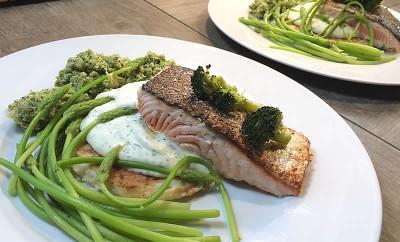 saumon-asperges
