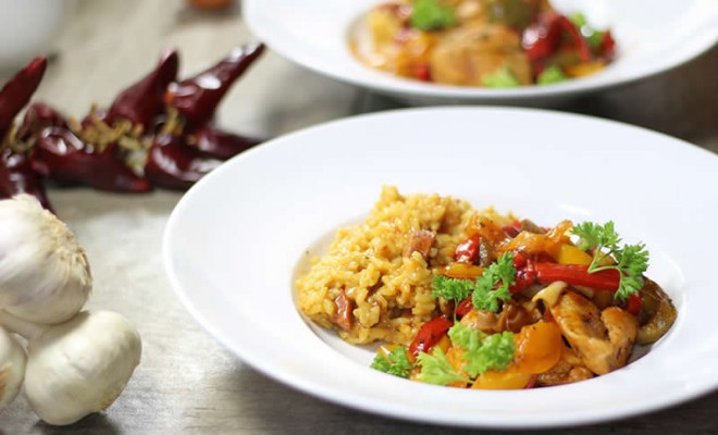 poulet-basquaise-risotto