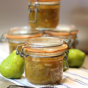 confiture de figues blanches sans sucre