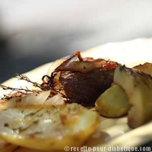 magret-canard-pommes