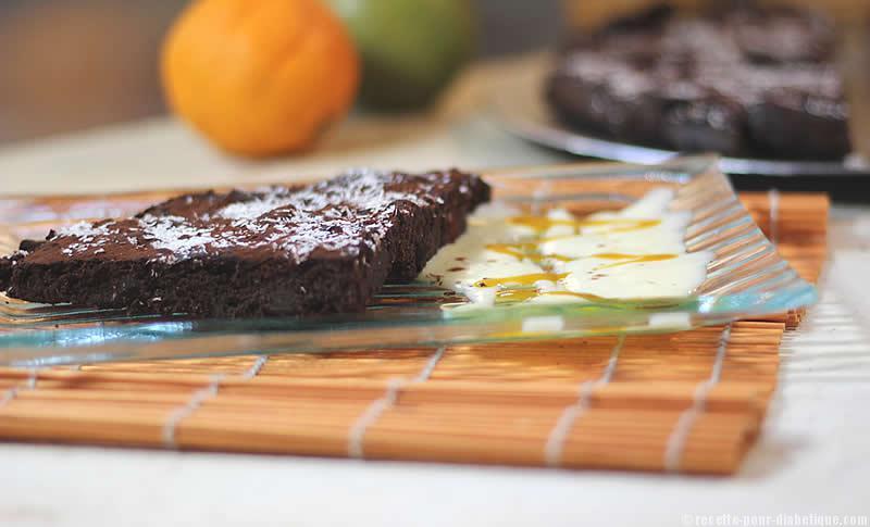 G teau fondant au chocolat sans beurre ni sucre - Gateau au chocolat sans sucre ...