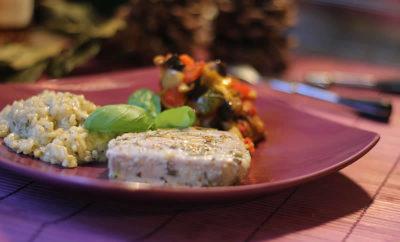 thon-grille-ratatouille-risotto