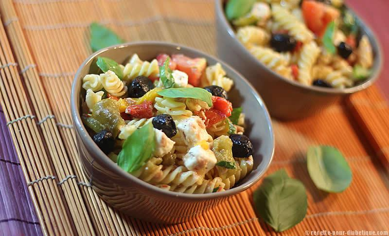 Salade de p tes la grecque for Cuisine grecque