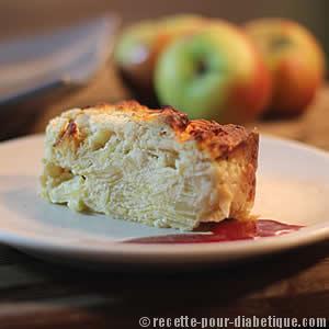 gateau-pomme-sans-sucre