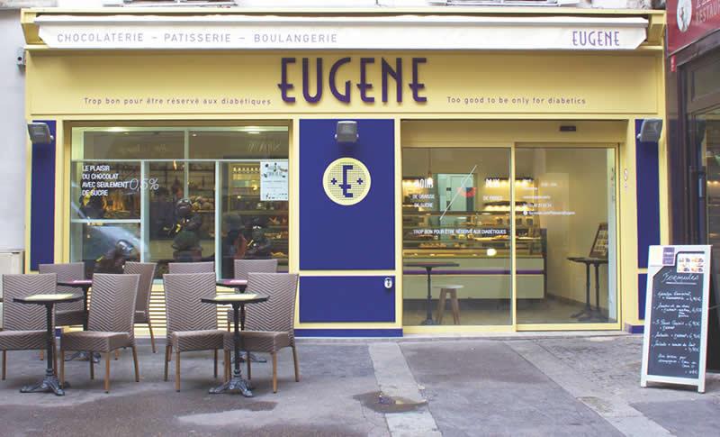 Boutiques Eugène : 28 rue des Lombards  Paris 4
