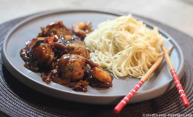 bouch es chinoises au poisson sauce aigre douce. Black Bedroom Furniture Sets. Home Design Ideas