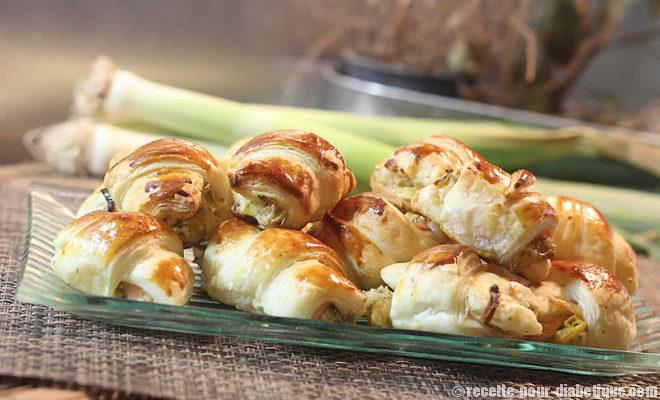mini-croissants-saumon-poireau