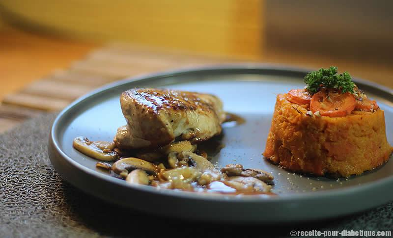 Gateau carotte diabetique