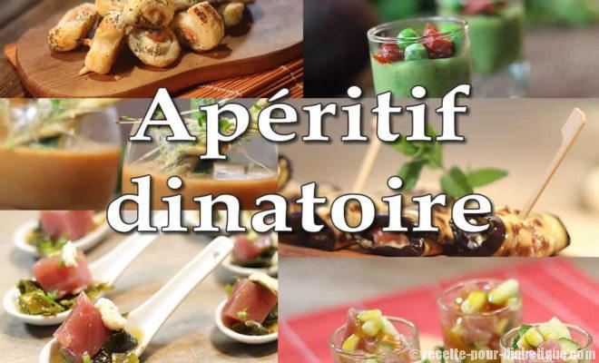 Ap ritif dinatoire pour diab tiques et recettes di t tiques for Canape aperitif froid