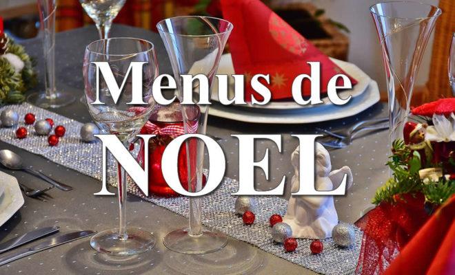 menus noel