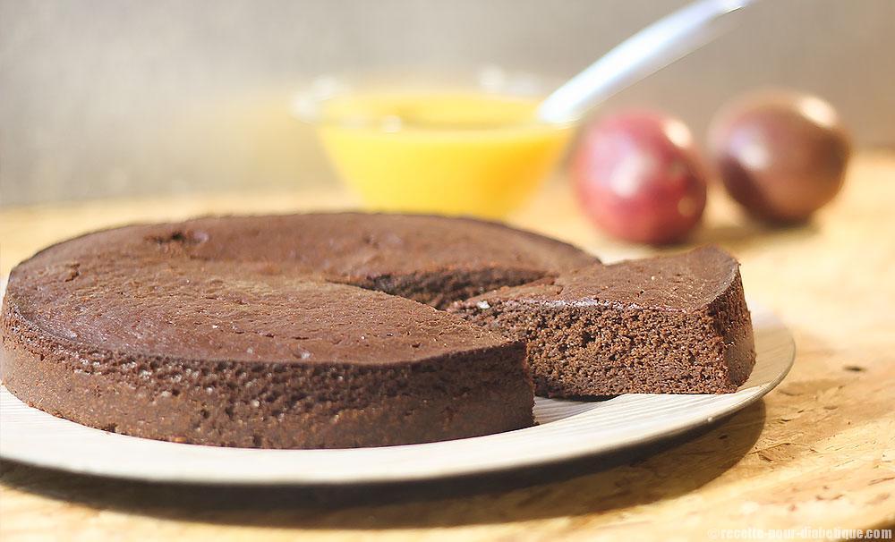 moelleux chocolat au coulis de mangue. Black Bedroom Furniture Sets. Home Design Ideas