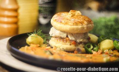 burger-cabillaud-bisque-ecrevisses