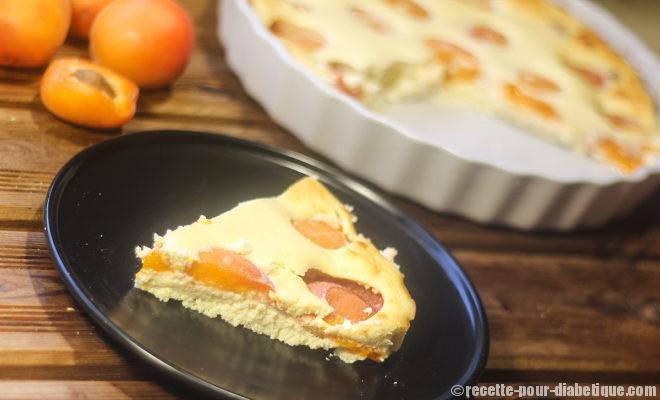 Recette du clafoutis aux abricots sur recette pour diabétique.com