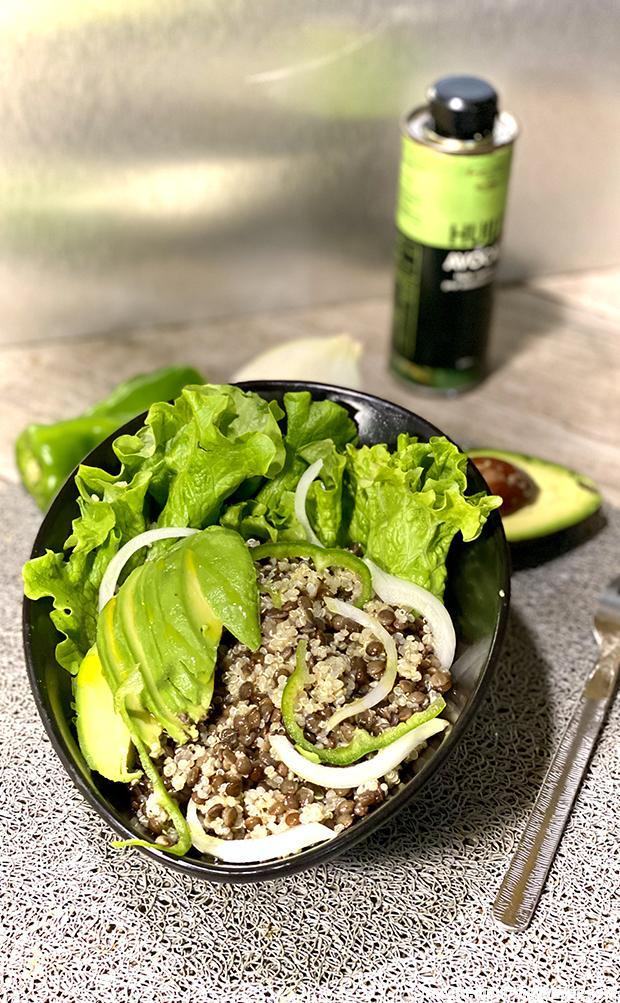 salade-lentilles-quinoa