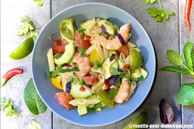 salade-pates-exotique