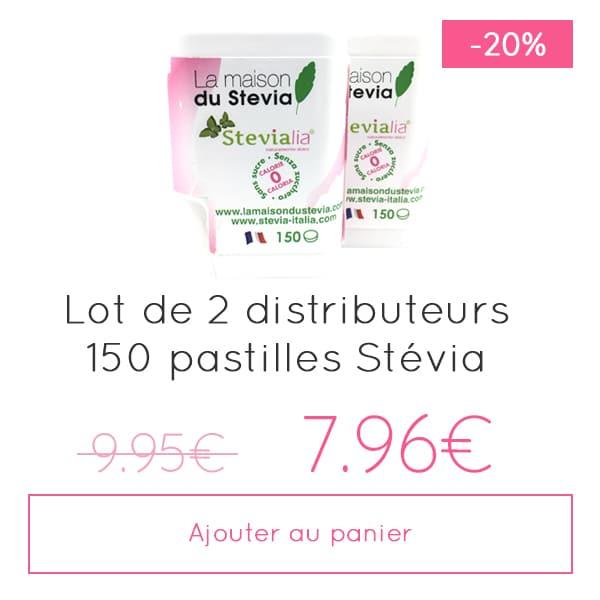 Produit-Stevia-Pastilles-Lot-2×150