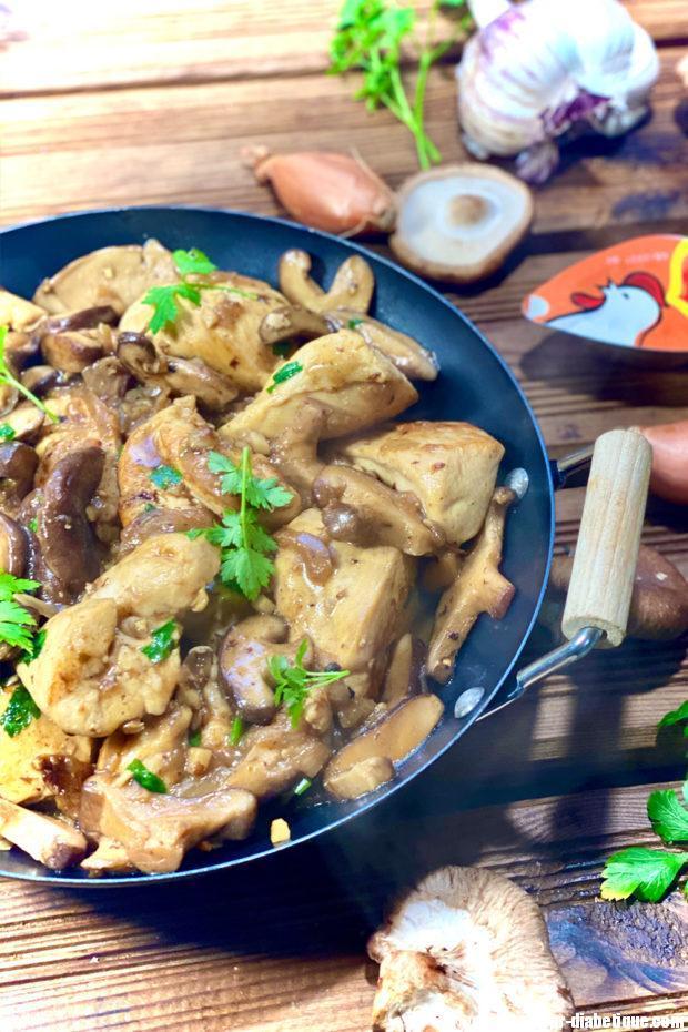 poulet-shiitake