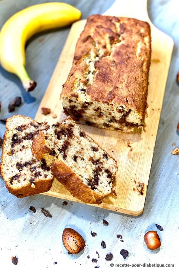 banana bread pepites de chocolat