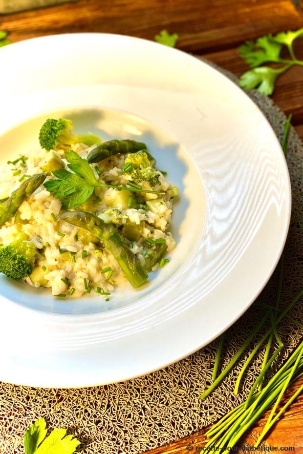 risotto légumes