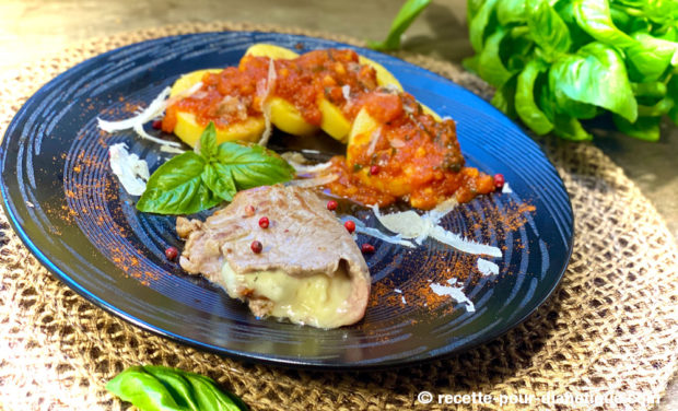 escalope saltimbocca gorgonzola